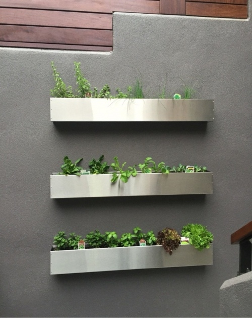 Best Cool Wall Mounted Planter Boxes Picture