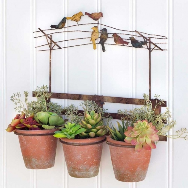 Best Wire Wall Planter Picture
