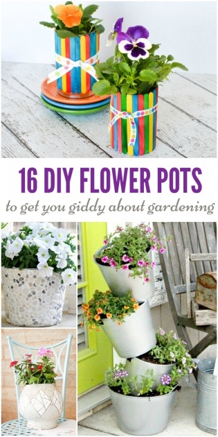 Cool Homemade Plant Pots Picture