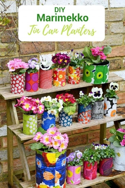 Cool Tin Can Planters Image