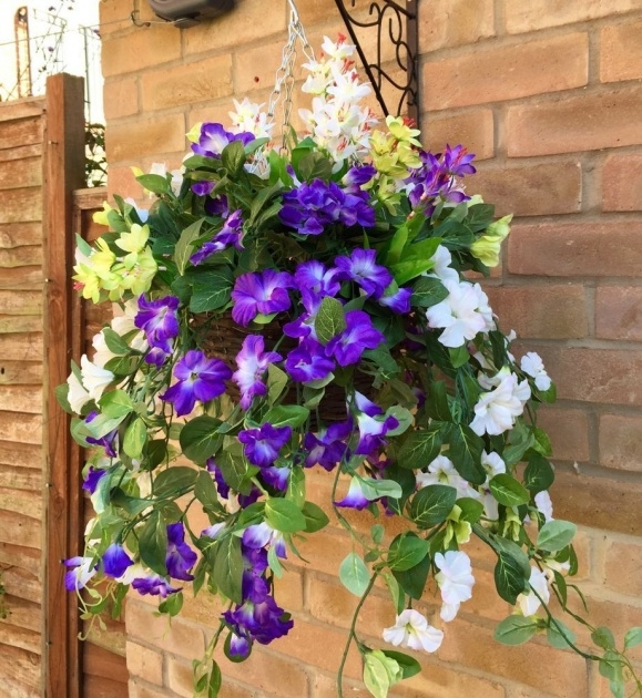 Easy Artificial Hanging Plants For Outside Picture