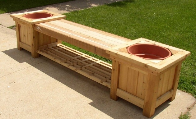 Easy Diy Wooden Planters Picture