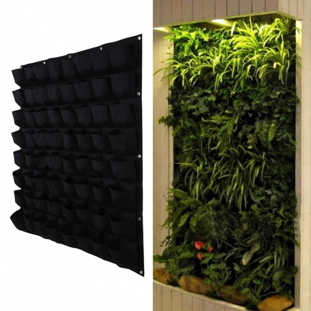 Easy Vertical Wall Planter Photo
