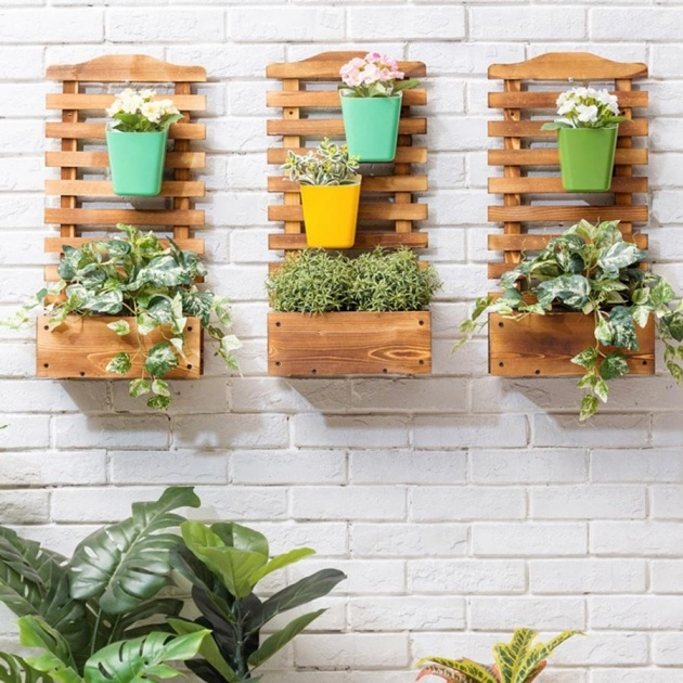 Easy Wall Mounted Planters Indoor Photo