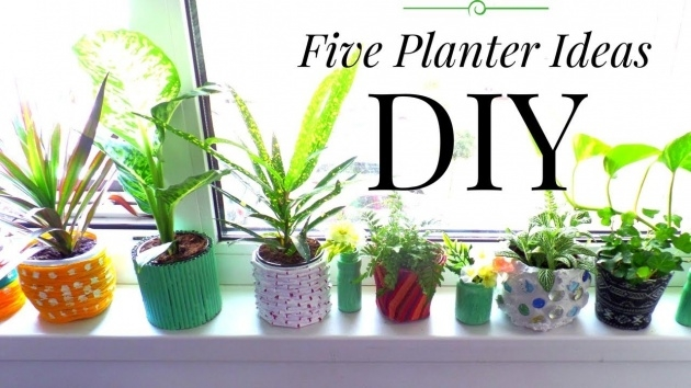 Fantastic Recycled Diy Planters Photo