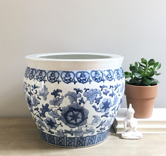 Fascinating Chinese Plant Pot Image