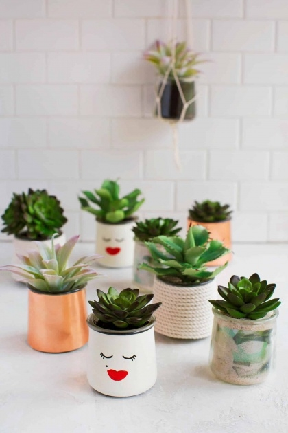 Fascinating Homemade Plant Pots Image