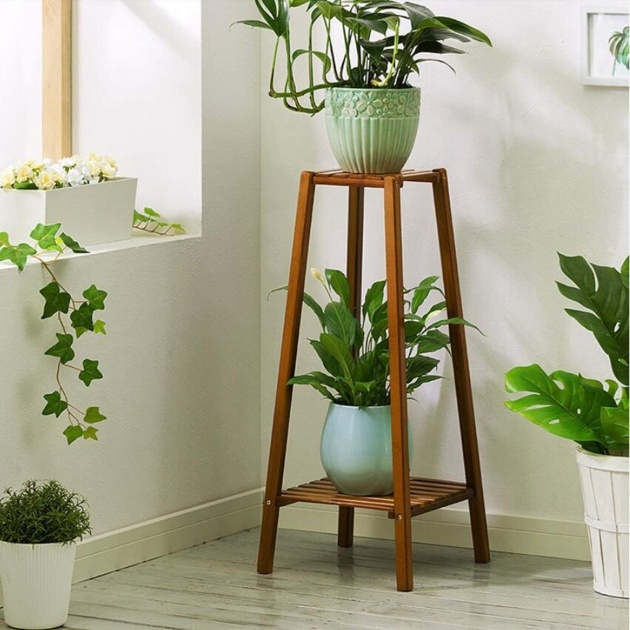 Fascinating Tall Plant Stand Photo
