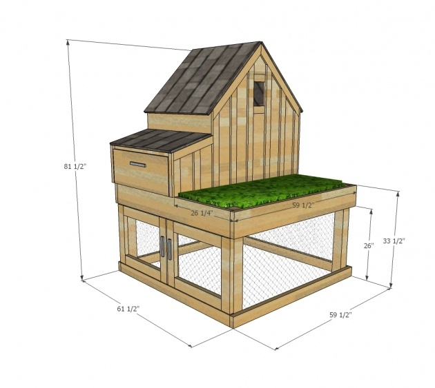 Gallery Of Chicken Coop With Planter Photo