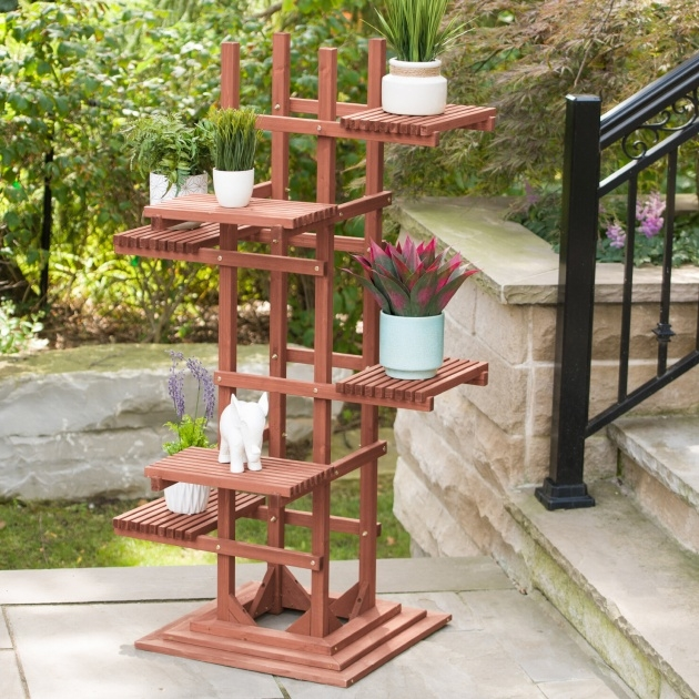 Gallery Of Tall Plant Stand Picture