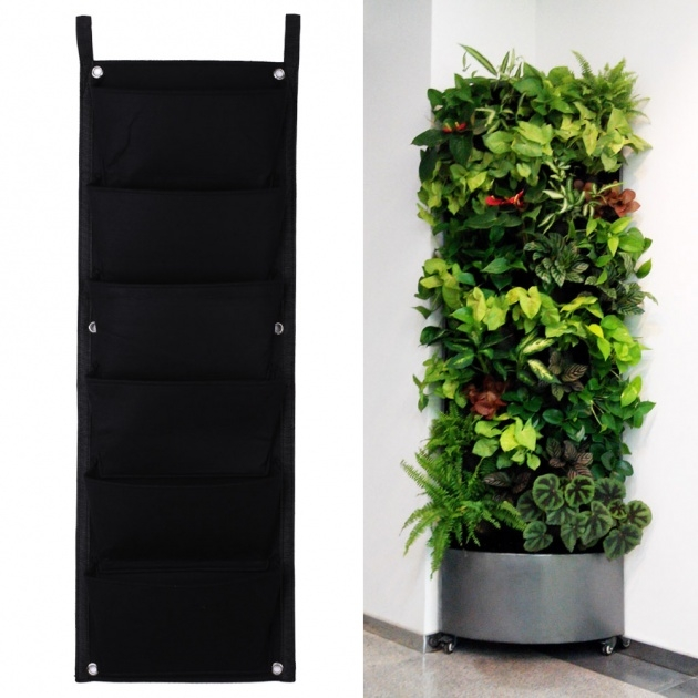 Gallery Of Vertical Wall Planter Indoor Picture