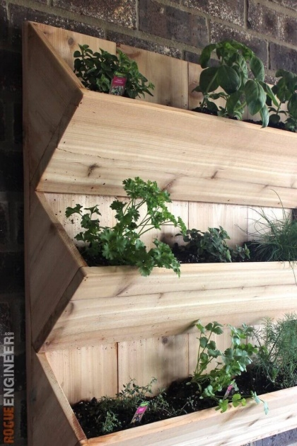 Gallery Of Wall Mounted Planter Boxes Photo