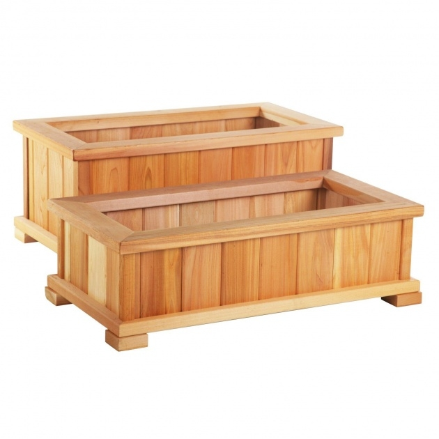 Gallery Of Wooden Planter Box Picture