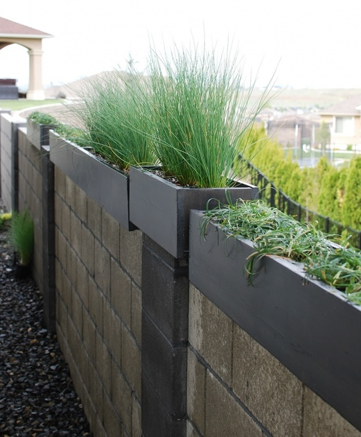 Good Contemporary Outdoor Planters Picture