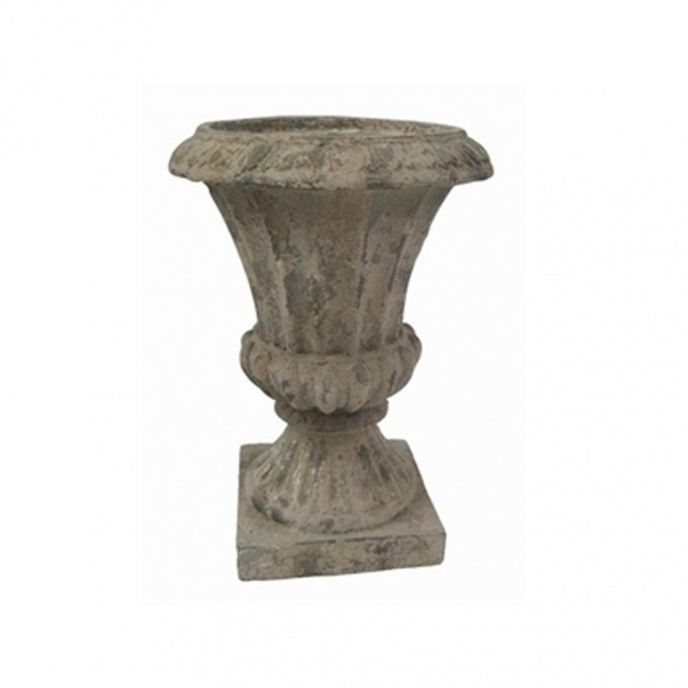 Great Cement Urn Planter Image