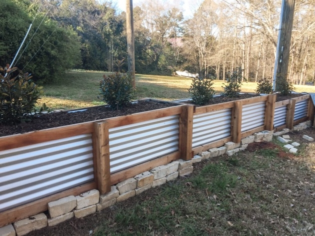Great Fence Planter Boxes Photo