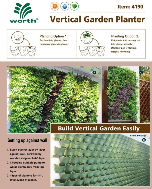 Great Ideas Self Watering Vertical Planter Picture