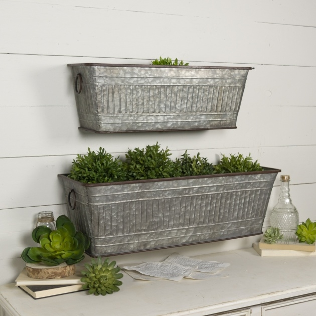 Ideas for Iron Planter Boxes Picture