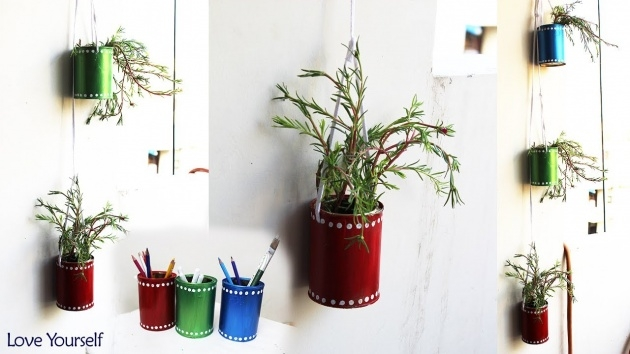 Ideas for Tin Can Planters Picture