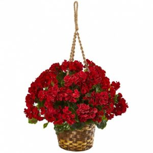Artificial Hanging Plants For Outside