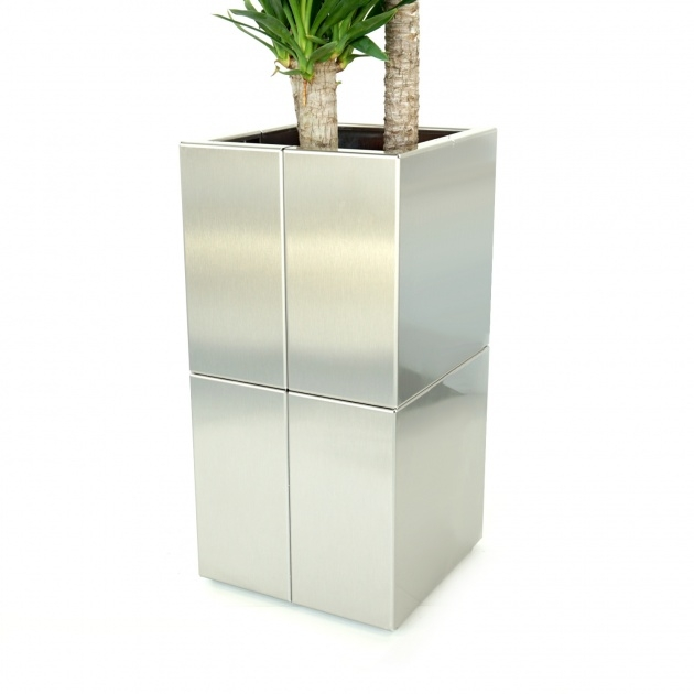 Innovative Stainless Steel Planters Image