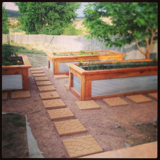 Inspiration Galvanized Steel Planter Boxes Picture