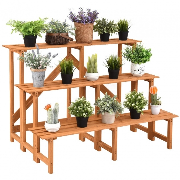 Inspiration Wooden Plant Stand Picture