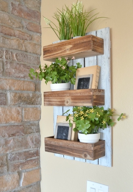 Inspiration Wooden Wall Planter Picture