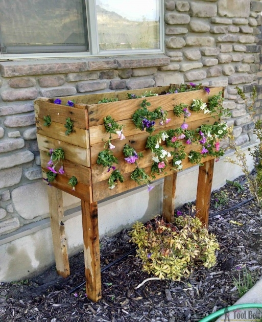 Inspirational How To Make A Planter Box Out Of Pallets Photo