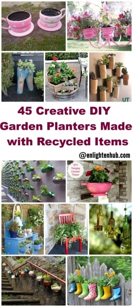 Inspirational Recycled Diy Planters Image