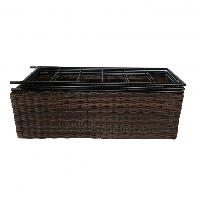Inspirational Resin Wicker Planter Boxes Image