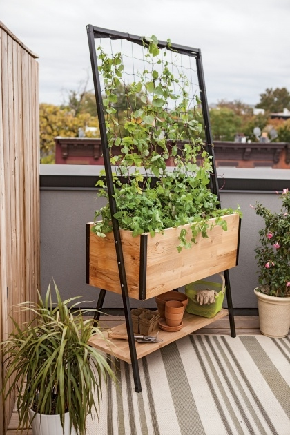 Inspirational Standing Planter Box Picture