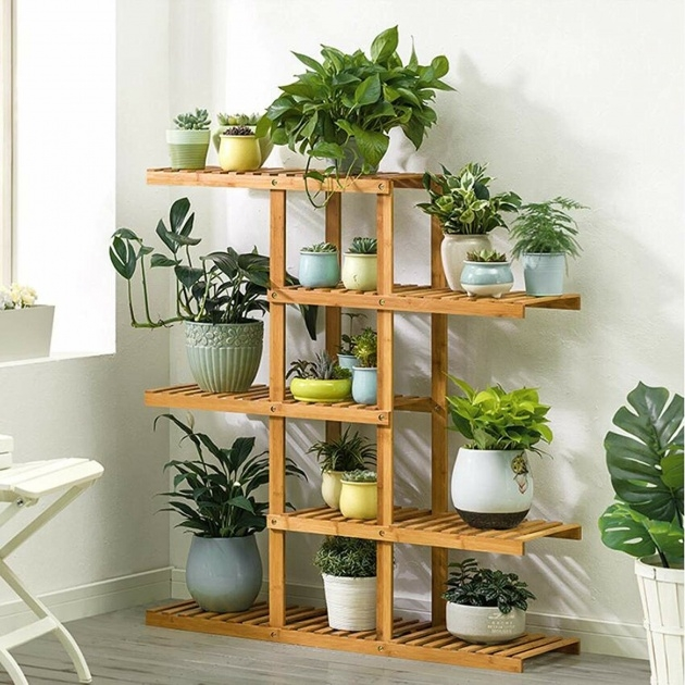 Inspirational Wooden Plant Stand Photo