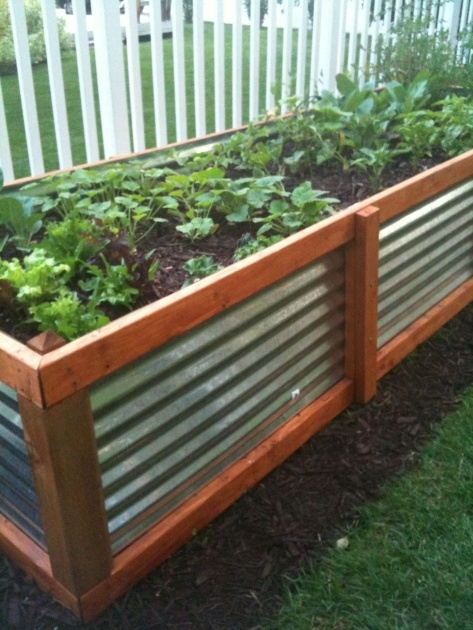 Inspiring Above Ground Planters Picture