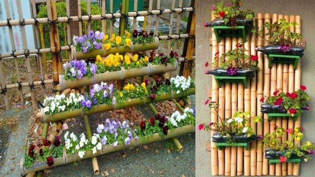 Inspiring Bamboo Planter Ideas Picture