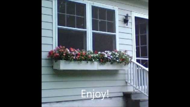 Inspiring Window Sill Planter Picture