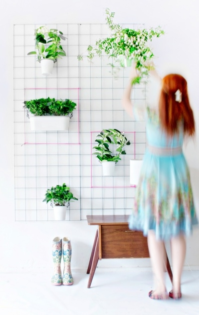 Inspiring Wire Wall Planter Image