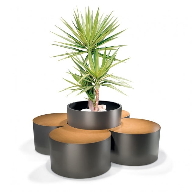Interesting Street Furniture Planters Picture