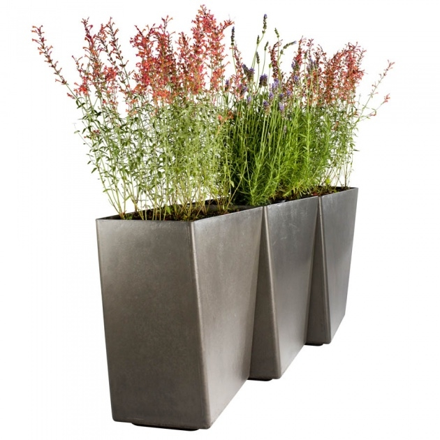 Marvelous Contemporary Outdoor Planters Image
