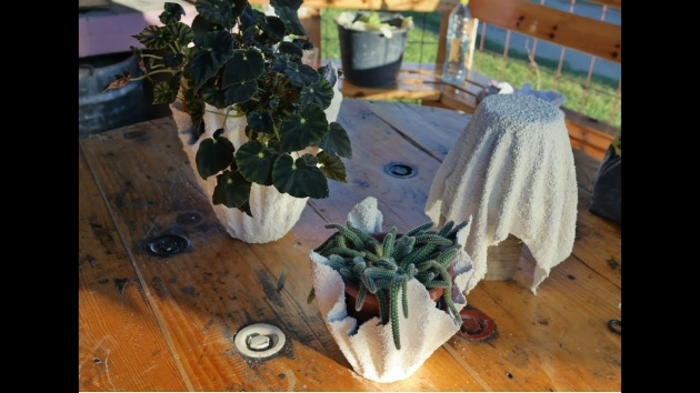 Most Creative Diy Cement Planters Picture