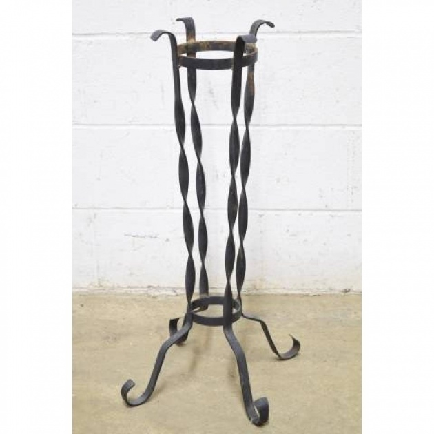 Most Perfect Iron Plant Stand Picture