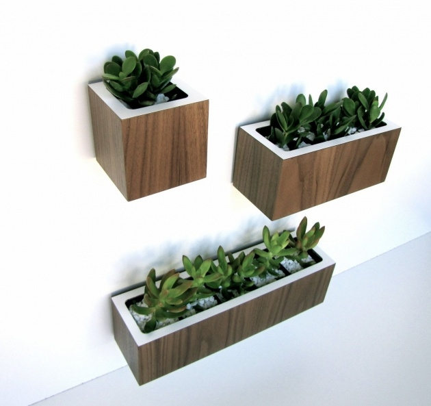 Most Perfect Wall Mounted Planter Boxes Picture