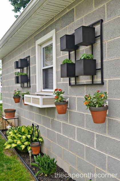 Most Perfect Wall Plant Pots Photo