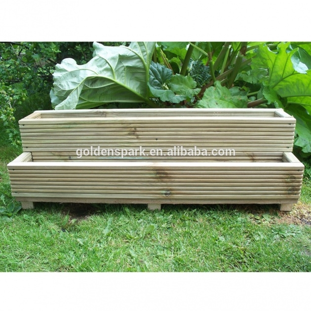 Most Perfect Wooden Garden Planters Picture