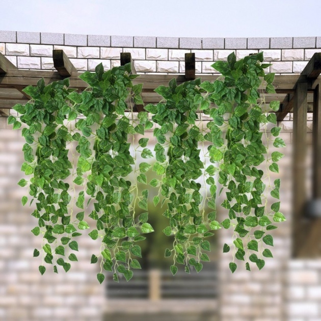 Most Popular Artificial Hanging Plants For Outside Photo