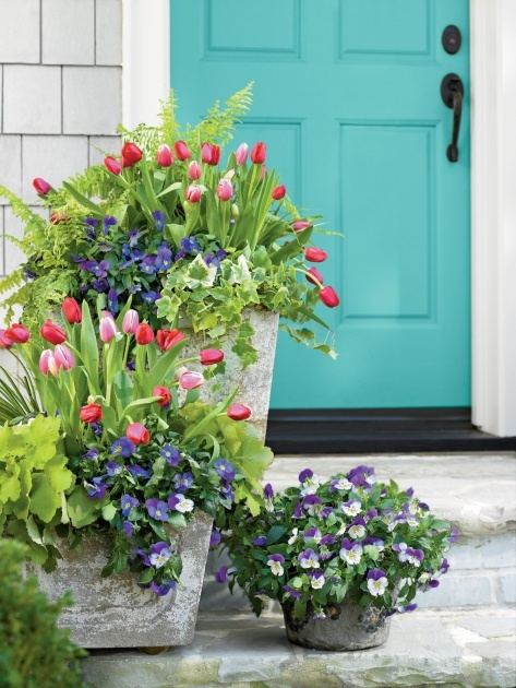 Most Popular Spring Planter Ideas Picture