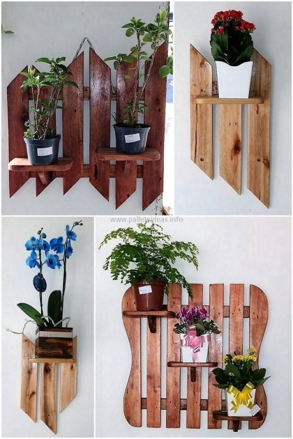 Most Popular Wooden Wall Planter Photo
