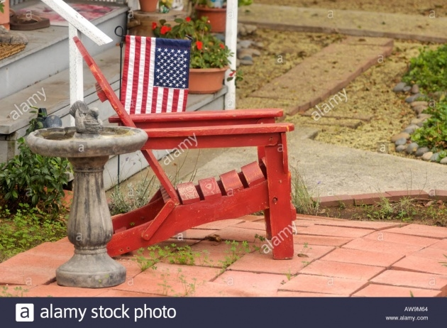 Outstanding Adirondack Chair Front Yard Picture