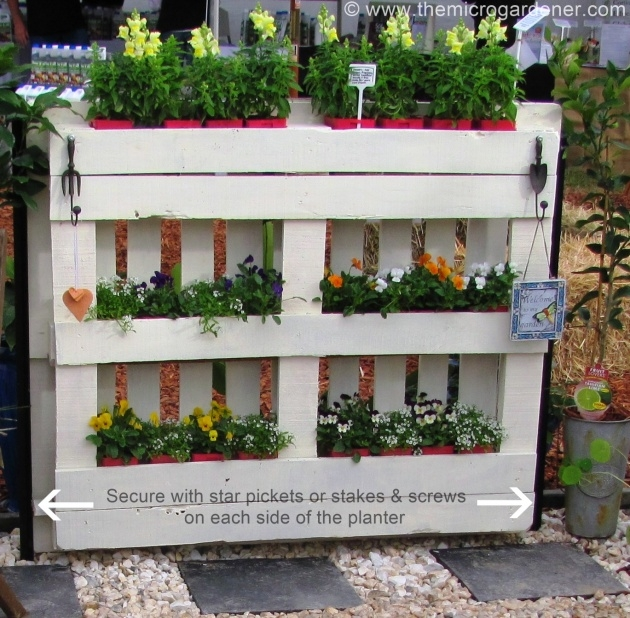 Outstanding How To Make A Planter Box Out Of Pallets Picture