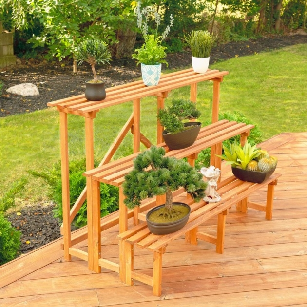 Outstanding Outdoor Plant Stand Picture